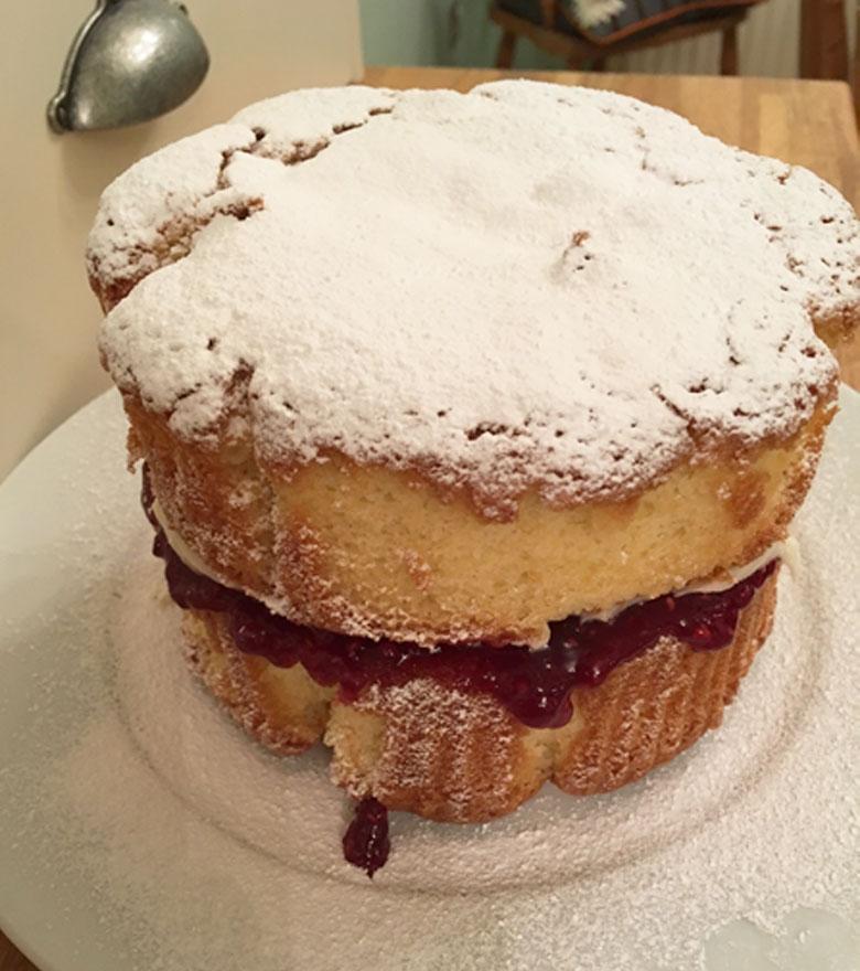 best gluten free victoria sponge cake