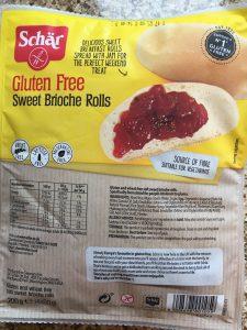 Schar gluten free sweet brioche rolls