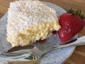 Gluten free Manchester tart.