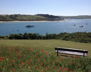 Perfect Place to sit in Pretty Padstow.