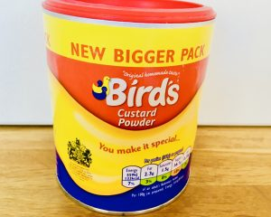 Can of birds custard powder