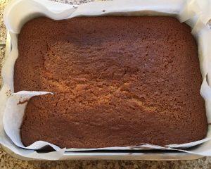 Gluten free ginger sponge