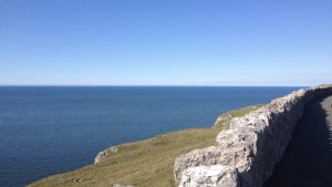 Looking out to sea from Llandudno