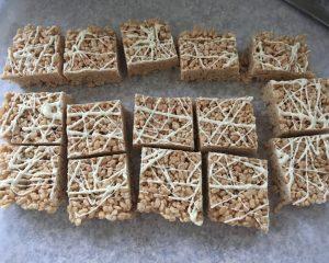 uten free crispy rice squares