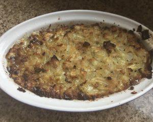 Homemade gluten free stuffing