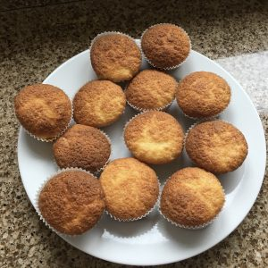 Cooked gluten free buns