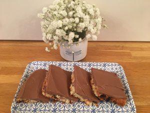 Chocolate picnic slices