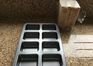 Loaf muffin tray and cases