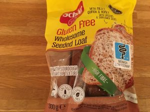 Schar gluten free wholesome seeded loaf