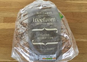 Waitrose gluten free sliced seeded cob