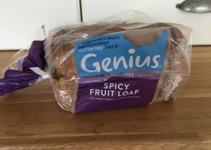 Genius gluten free spicy fruit loaf