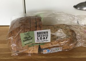 M&S gluten free brown seeded loaf