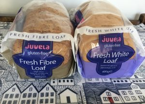 Juvela gluten free fresh white and fibre loaf