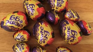 Cadburys cream eggs