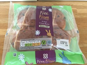 Coop gluten free hot cross buns