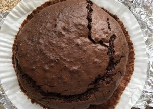 Gluten free chocolate cake -recipe from Nigella Lawson How To Eat