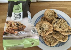 M&S Gluten free Fruity Flapjack cookies