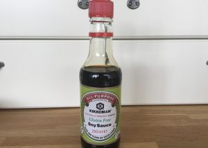 Gluten free soy sauce to go in gluten free special fried rice