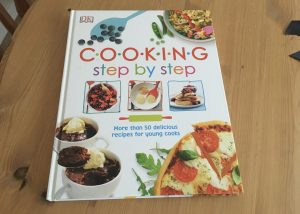 Cooking Step by Step - cookery book for young cooks