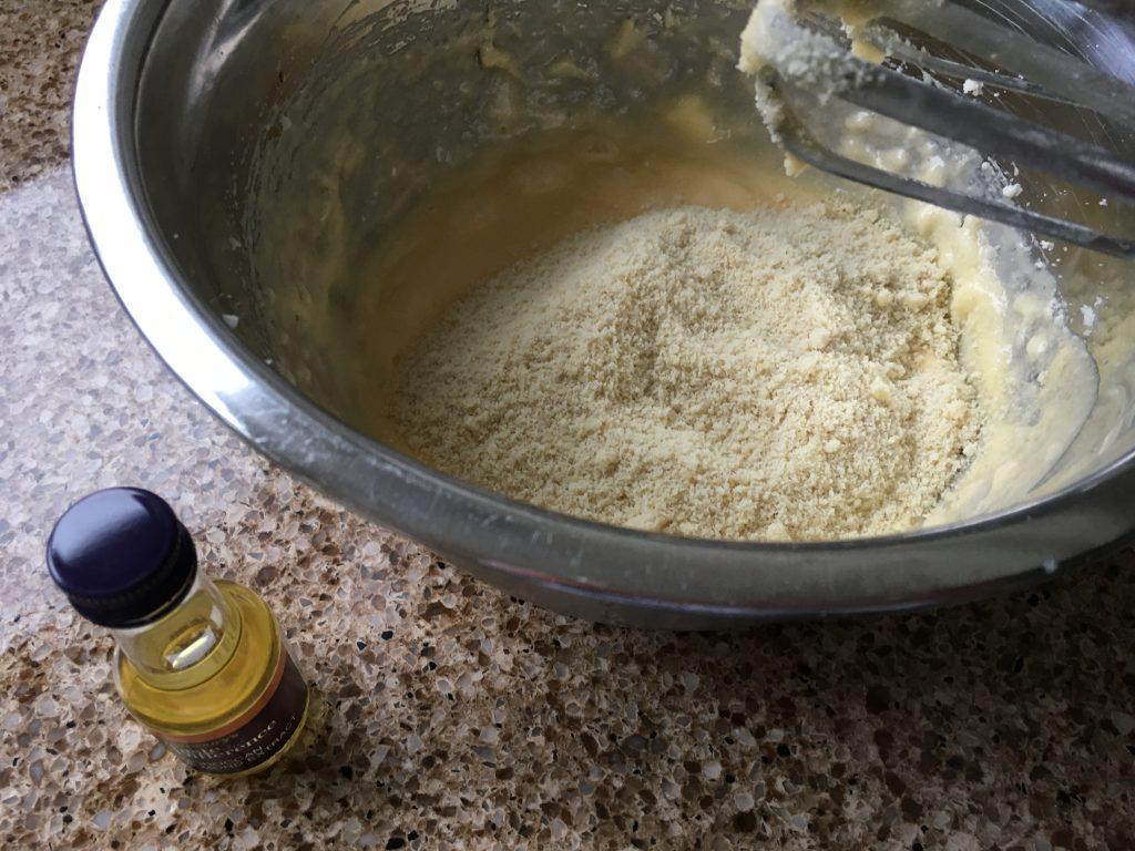 Frangipane for gluten free cherry Bakewell's