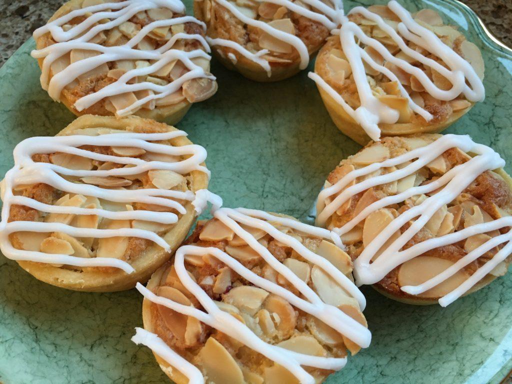 Gluten free Bakewell tarts