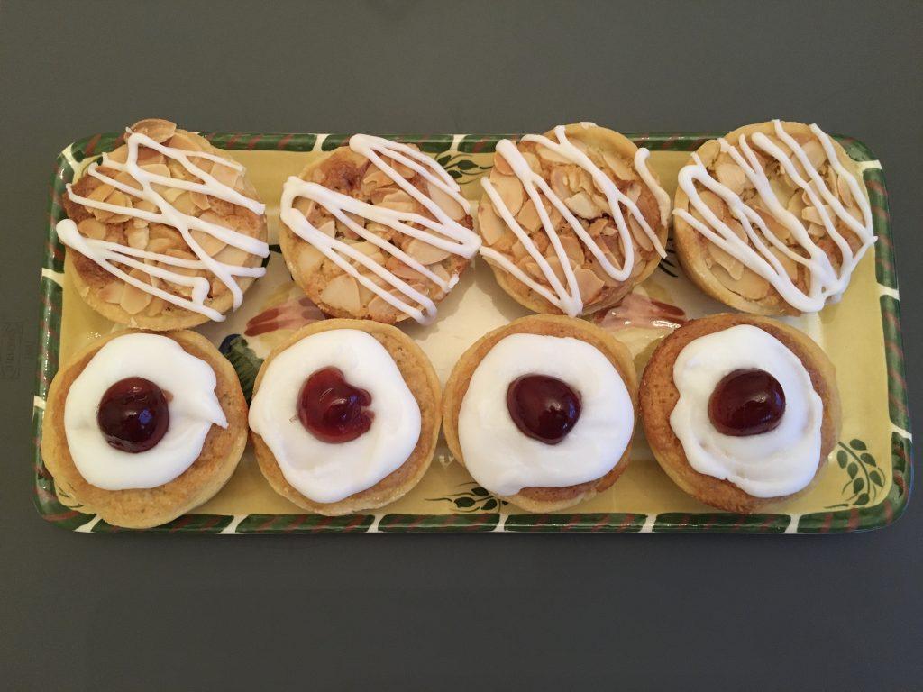 Gluten free cherry Bakewell's