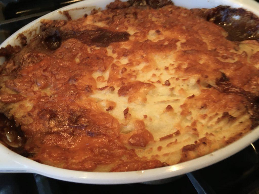 Gluten free cottage pie
