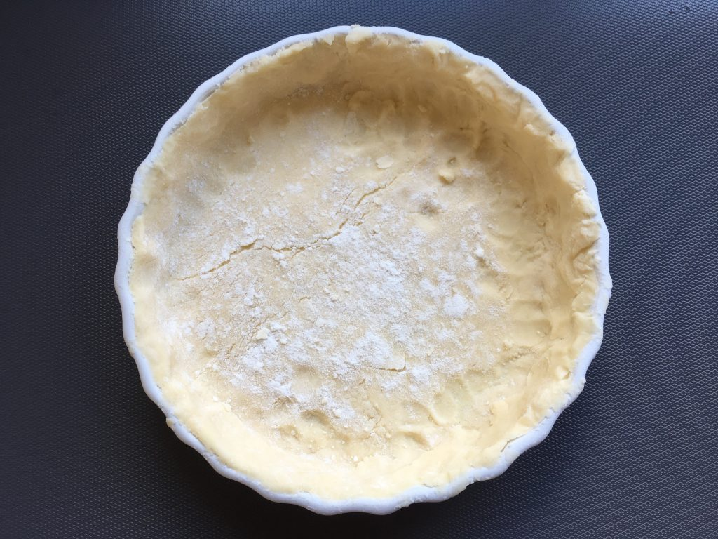 Gluten free pastry base to be used in gluten free almond tart recipe.