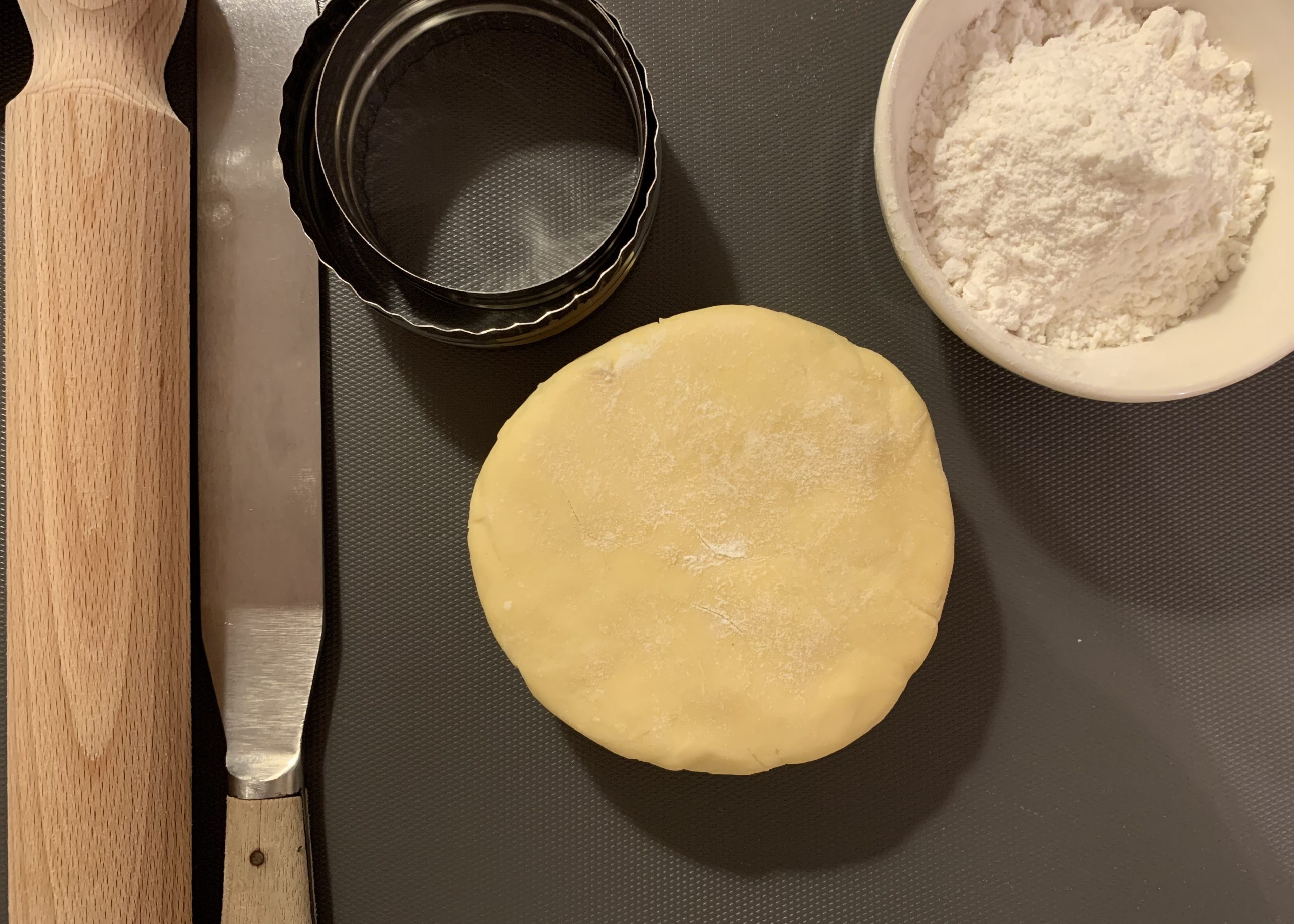 Gluten free pastry for mini  chicken and  ham pies