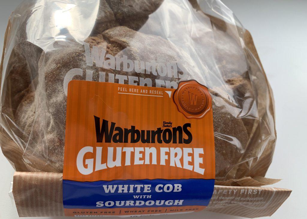Warburtons gluten free white cob with sourdough