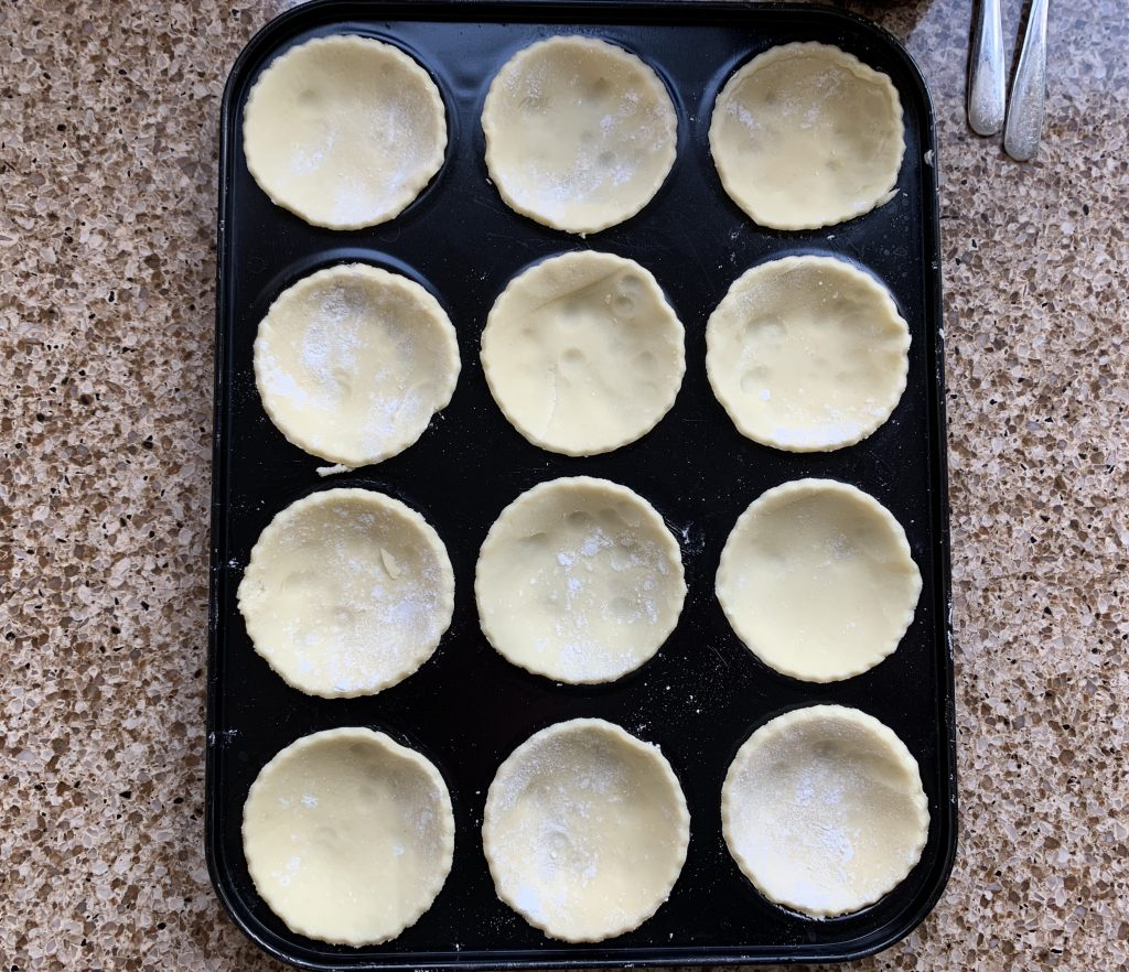 12 Gluten free pastry cases