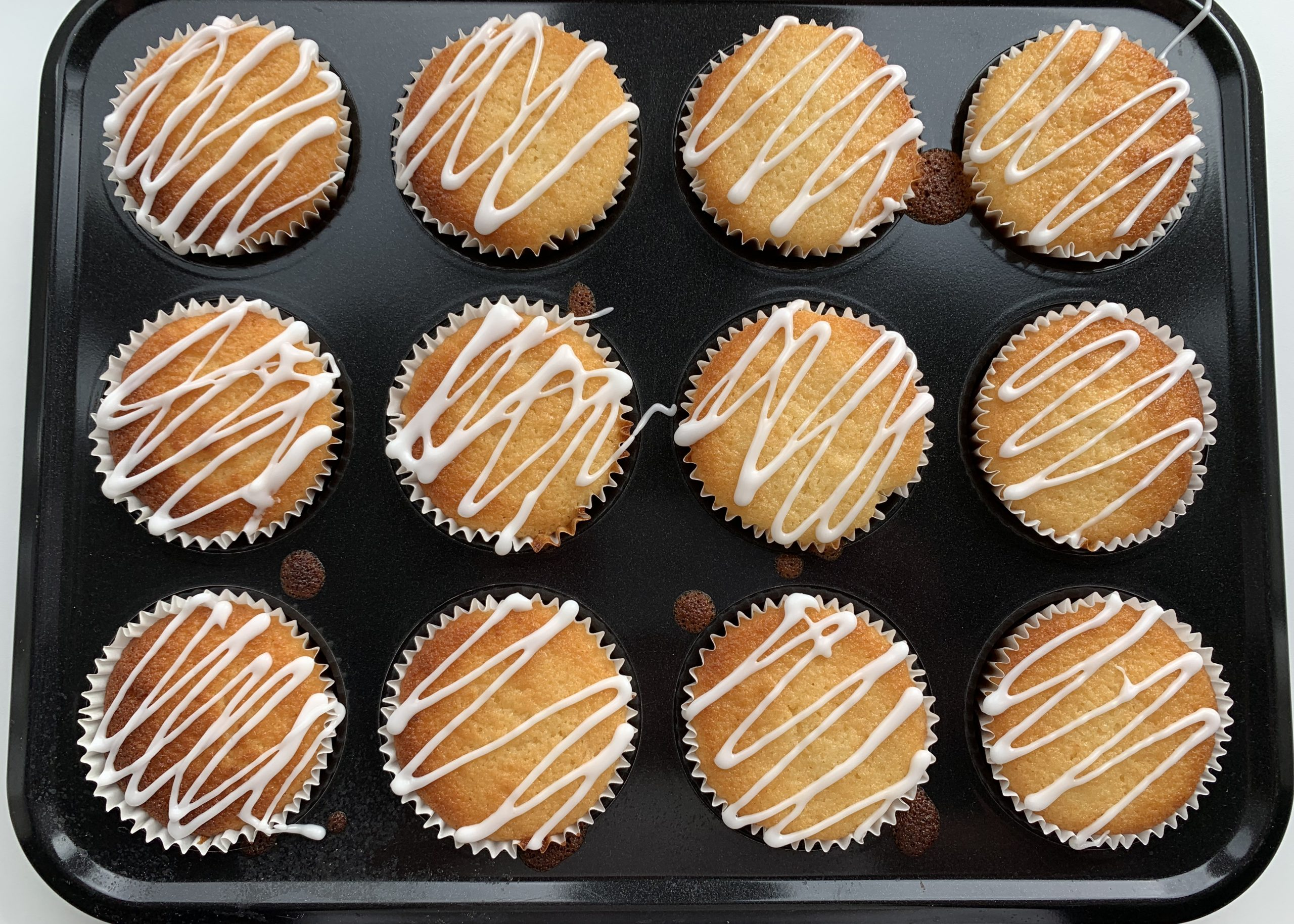 Gluten free citrus muffins