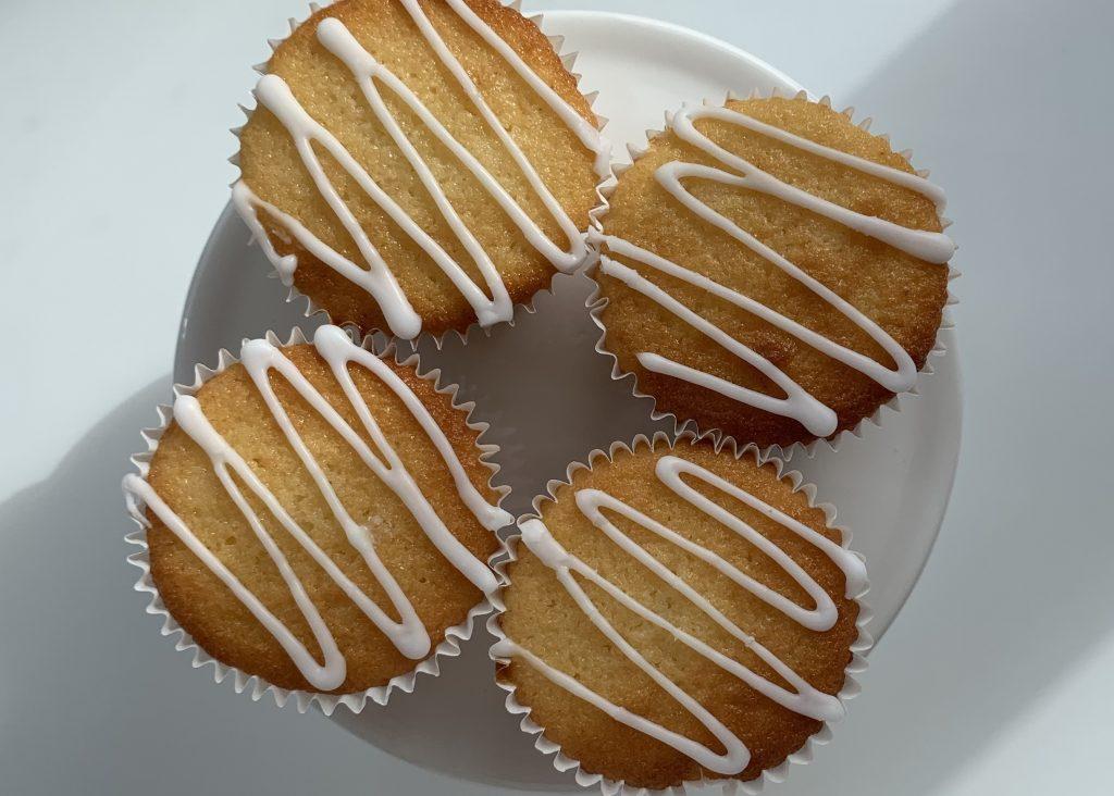 4 gluten free citrus muffins